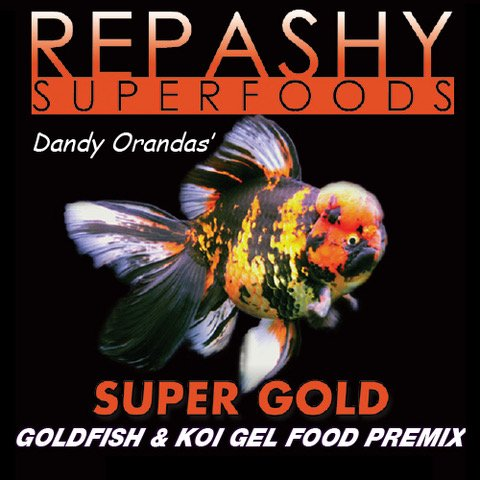 Recommended: Repashy Super Gold Goldfish Gel Food