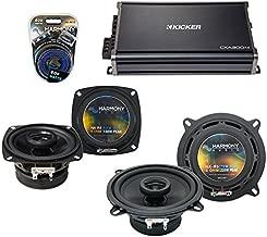 Replacement Car Audio Speakers for Mercedes 350 Series 90-96 Harmony R4 R5 & CXA300.4 Amp (Renewed)
