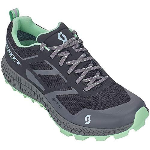 Scott Shoe W's Supertrac 2.0 GTX Chaussures Noir/vert clair, 9.0 US