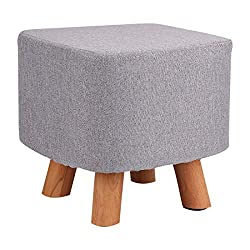 Can be used as pouffe stool, footstool, ottoman, children stool, sofa tea stool...etc. The cover is made of natural linen,so it is easy to wash and remove It will also fit any style of room or other furniture because of its neutral palette and beauti...