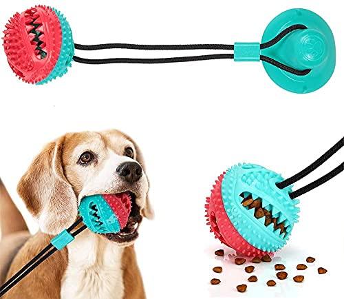 Juguetes para Masticar Perros, Juguetes de Entrenamiento para Perros con ventosas, utilizados en Juegos interactivos para Perros, Limpiar los Dientes y Proteger la Boca