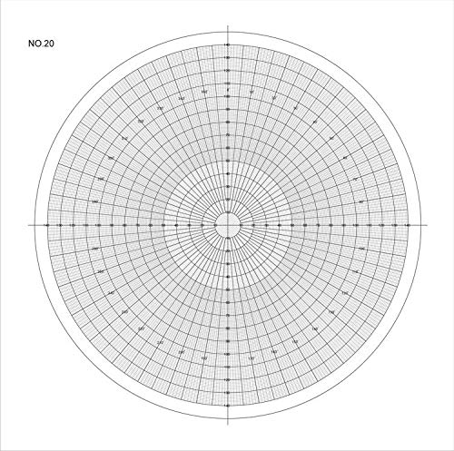 Optical Comparator Chart For Profile Projector Overlay Chart 300mm 512075