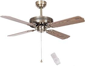 Ventilateur au plafond en métal, Accueil Utilisation 4 feuilles ventilateur de refroidissement Bar Bibliothèque industriel...