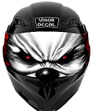 V14 Evil Clown VISOR TINT DECAL Graphic Sticker Helmet Fits: Icon Shoei Bell HJC Oneal Scorpion AGV