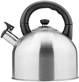 Kettle Teapot Tea Kettle For Gas Stove TopWhistling Kettle Induction Cooker Natural Gas Household Restaurant Teapot 4.4L T...
