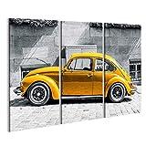 bilderfelix® Bild auf Leinwand VW Käfer Vintage Beetle
