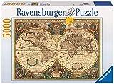 Ravensburger - Antiguo mapamundi, Puzzle 5000 Piezas (17411 9)