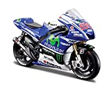 Maisto 531586 - 1:18 Moto GP '14 Yamaha 99, Jorge Lorenzo -