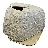 Braun GmbH Sandfilteranlage Abdeckung FLORANTIA CoverCave in Sandstein, Sandfilter Abdeckung für Poolfilter aus hochwertigem und witterungsbeständigem PE mit naturgetreuer Steinoptik