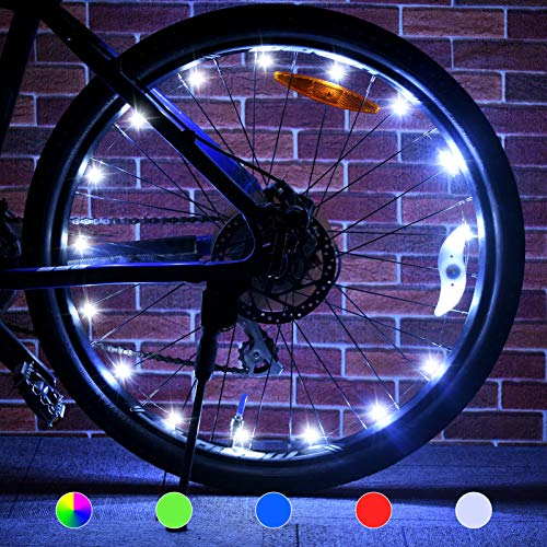 Tesoky Bike Lights (2 Tire Pack), F…