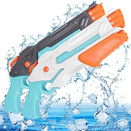 Pistole Acqua Bambini Giocattolo, Giocattolo Pistola ad Acqua per Feste Allaperto, Piscina, Giardino, per Bambini e Adulto Estivi Allaperto per Divertimento