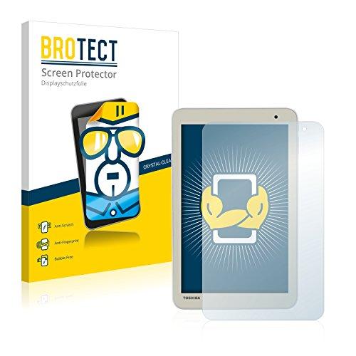 BROTECT Schutzfolie kompatibel mit Toshiba Encore 2 8.0 WT8-B (2 Stück) klare Bildschirmschutz-Folie