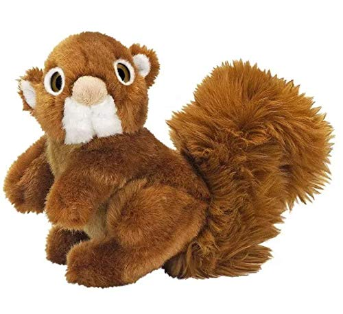 Pelúcia Esquilo Animal Planet 15 Cm Fun