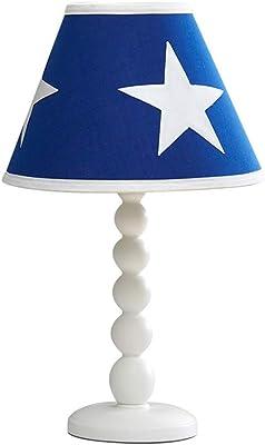 WO NICE Lámpara de Mesa Estrella Lámpara de Mesa Estilo inglés ...