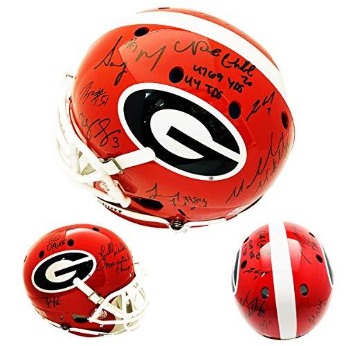 georgia bulldogs autographed - 9