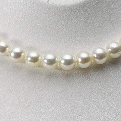 8.5mm アコヤ真珠 パールネックレス (ナチュラルホワイト)