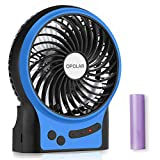 Best Camp Fans - OPOLAR Portable Travel Battery Operated Fan with 4-15 Review