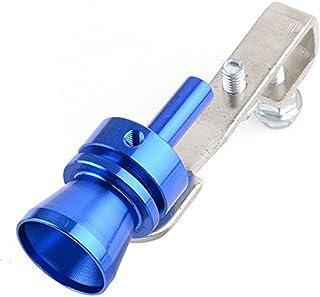 Busirde Universal Car Turbo Whistle Voiture R/éam/énagement Turbo Whistle Pot d/échappement Sound Turbo Tail Noir XL