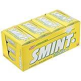 Smint Tin Limón, Caramelo Comprimido Sin Azúcar - 12 unidades de 35 gr. (Total 420 gr.)