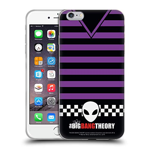 Head Case Designs Licenza Ufficiale The Big Bang Theory Howard Magliette Iconiche Cover in Morbido Gel Compatibile con Apple iPhone 6 Plus/iPhone 6s Plus