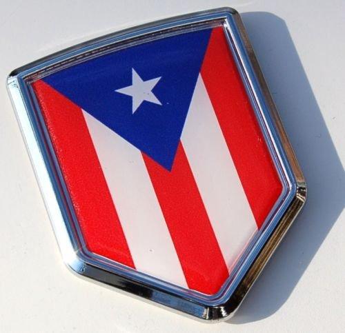 Puerto Rico Flags Window Decal 4x4 Graphics Llc