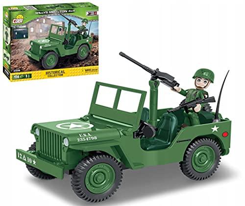 COBI COBI-2399 U.S.Army Truck 1/4TON