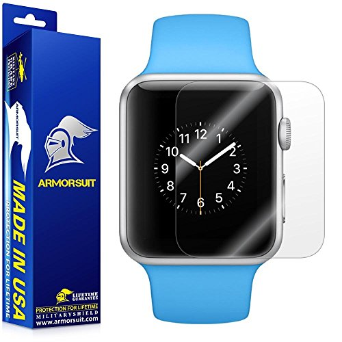 Armorsuit - Apple Watch Screen Protector (38mm Series 3 / 2 / 1 Compatible) MilitaryShield [Max...