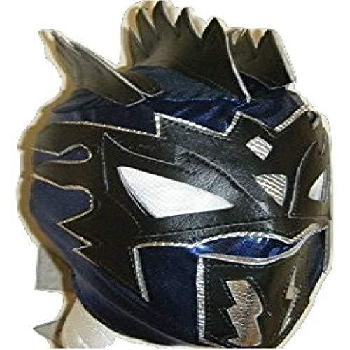 WRESTLING MASKS UK Blue - Kalisto - Deluxe Childrens Mask