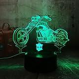 wangZJ 3d a mené la lumière de nuit de lampe d'illusion/a mené le bureau de...