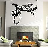 Tonsee Wandsticker Leopard Wohnzimmer Schlafzimmer