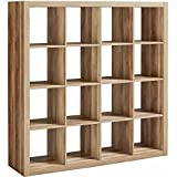 Better Homes and Gardens 16-Cube Organizer, Weathered