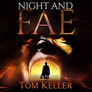 Night and Fae audiobook cover art