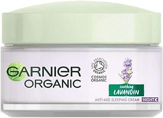 Garnier Organic Lavandin Anti-Age Sleeping Cream, 50 ml 3600542325370