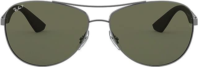 Ray-Ban RB3526 Aviator - anteojos de sol, color mate