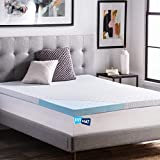 FITMAT Cool Gel Orthopedic Support Memory Foam Mattress Topper