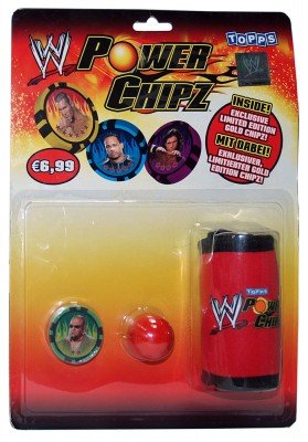 WWE Wrestling Power Chipz Play Pack