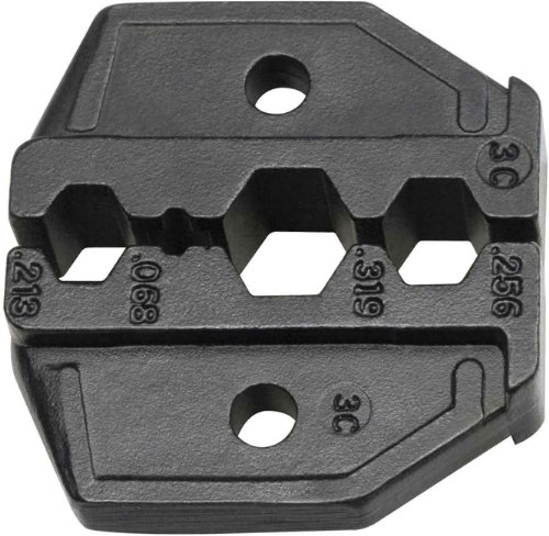 Klein Tools VDV211-037 RG58, RG59, RG6, RG62 Coaxial Cable Die Set for VDV200-010 Ratcheting Crimping Frame with Hex Crimp Connectors