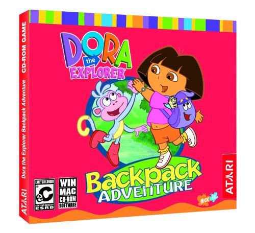 Price comparison product image Dora the Explorer: Back Pack Adventure (Jewel Case) - PC / Mac