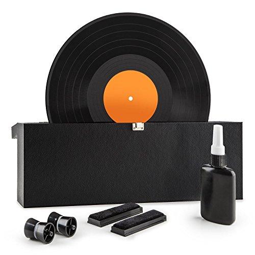 auna Vinyl Clean - Schallplattenwaschmaschine, Vinyl Reinigungs und Pflegeset, für 7