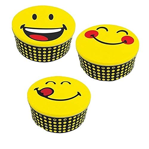 Zak! designs 6727-004 Smiley Boite, Jaune