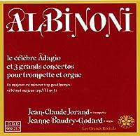 Albinoni: 3 Concertos pour Tropmpette et Orgue