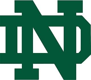 Elektroplate Notre Dame Green Color NCAA Reflective 3D Decal Domed Sticker Emblem