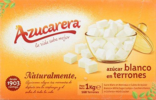 Azucarera - Azúcar blanco en terrones - 1 kg - , Pack de 6