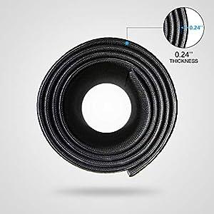 """High Density Sport Equipment Mat-Treadmill Mat, Exercise Bike Mat, Fitness Mat, Elliptical Mat, Jump Rope Mat, Gym Mat Use On Hardwood Floors and Carpet Protection (36""""x 78""""x 0.24"""")"""