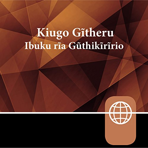 Kikuyu Bible, Audio Download audiobook cover art