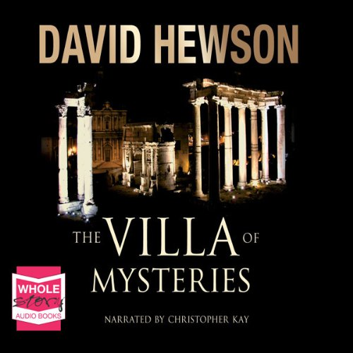 The Villa of Mysteries audiobook cover art
