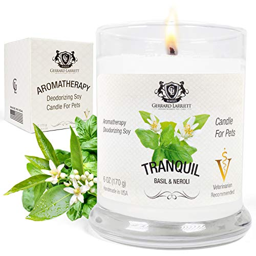 Aromatherapy Deodorizing Soy Candle for Pets, Candles Scented, Pet Odor...