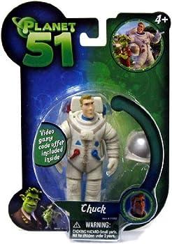 Hand Made Films International Ilion Animation Studios Planet 51 Movie Toy Mini Figure Chuck