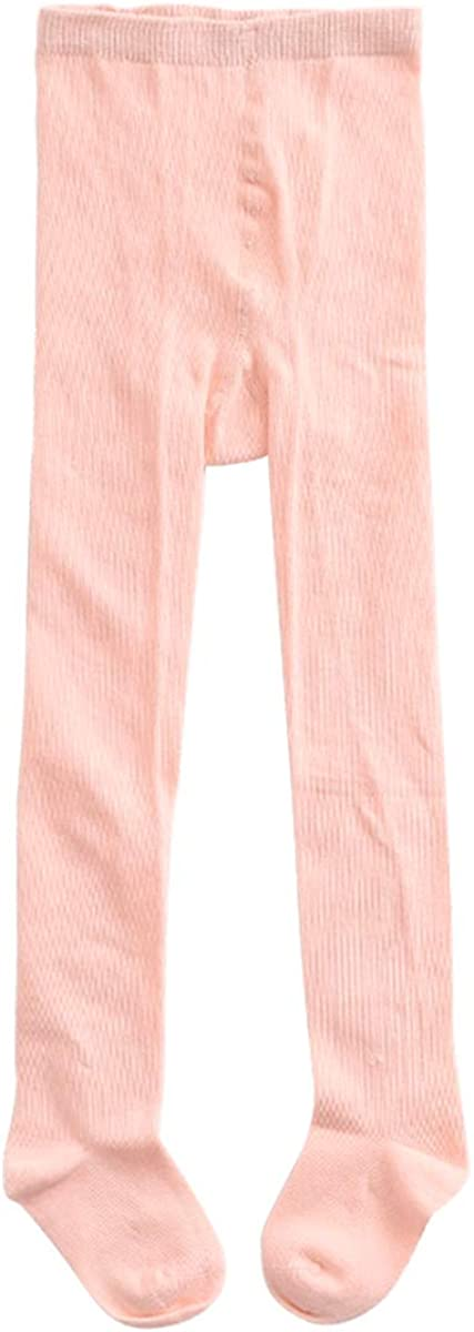 marc janie Baby Toddler Girls' Solid Color Stretch Seamless Tights