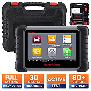 Autel MaxiPRO MP808 OBD2 Diagnostic Scanner More Advanced Scan Tool with Bi-directional Control Ability and Key Programming  Upgraded version of DS808 and same as MS906